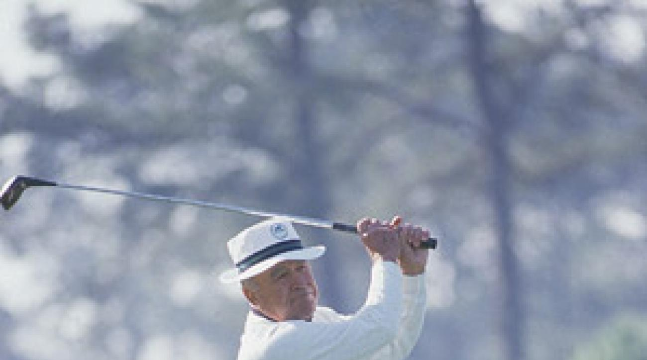 Gene Sarazen at the 1984 Masters