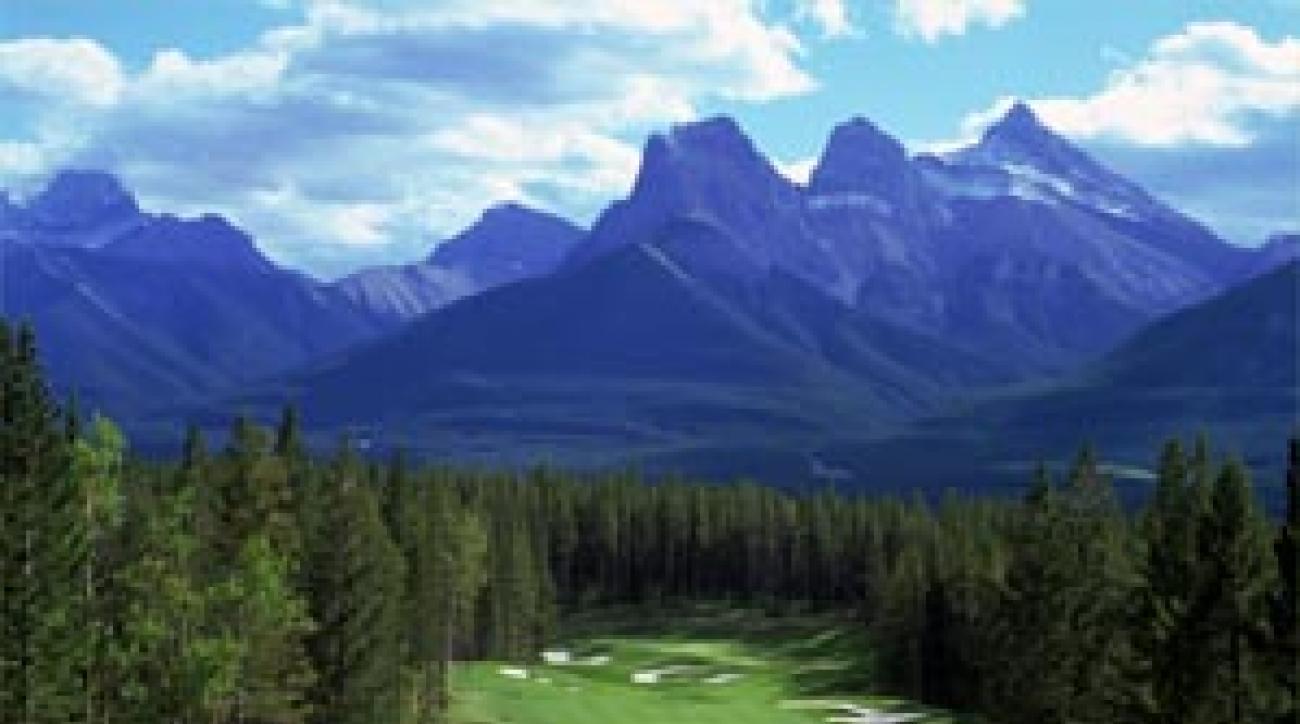 "The dollar is weak but Banff golf is strong. <span class=""picturesource"">Evan Schiller</span>"