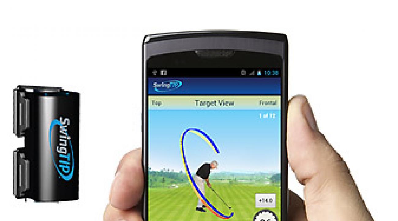 SwingTip Golf App.
