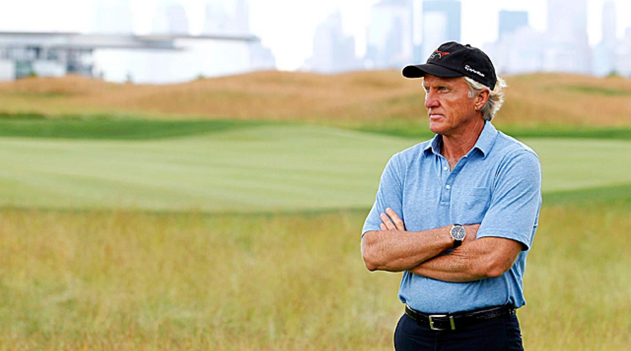 Greg Norman was tapped by the Chinese government to build its national golf team for the Rio Olympics in 2016.