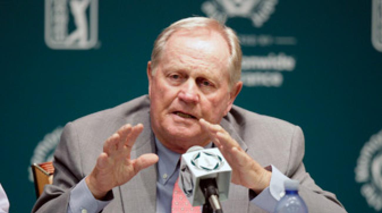 Jack Nicklaus did not make any major changes to the golf course this year.