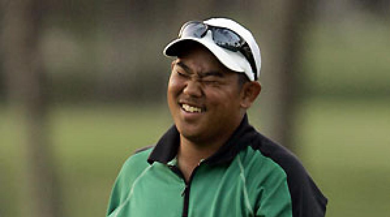 Tadd Fujikawa missed the cut by five shots.