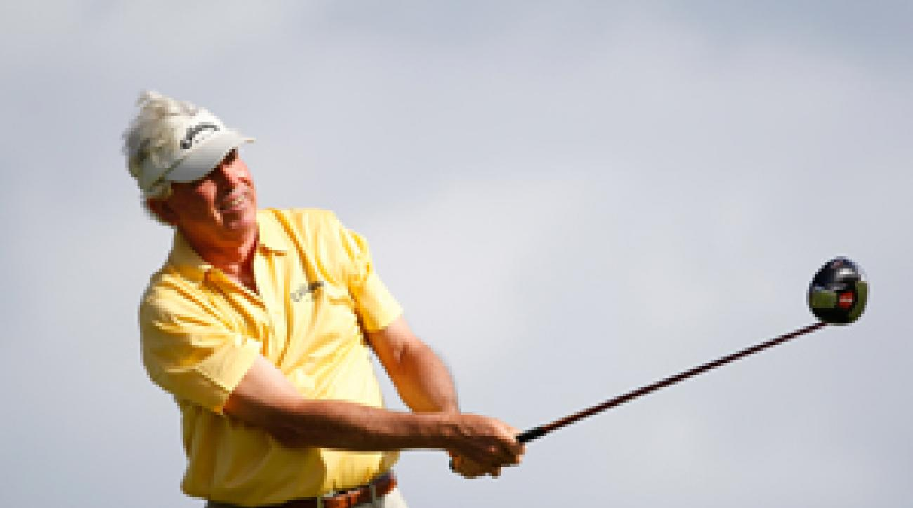 Dave Eichelberger says he has no expectations this week at the Sony Open.