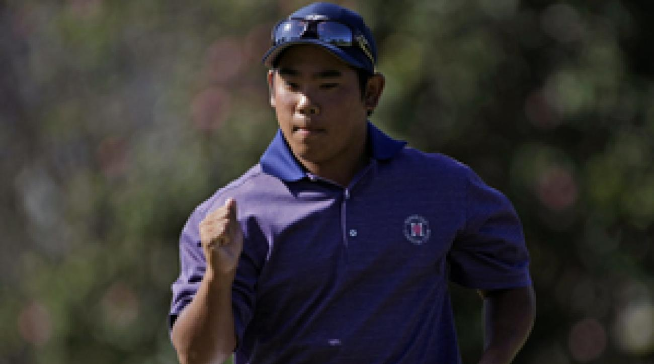 Tadd Fujikawa started the year shooting 62 at the Sony Open.