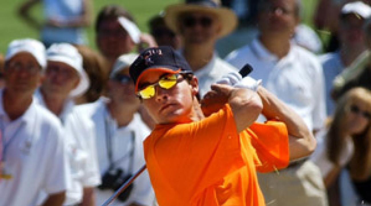Wittenberg at the '03 U.S. Amateur. He lost in the final match.