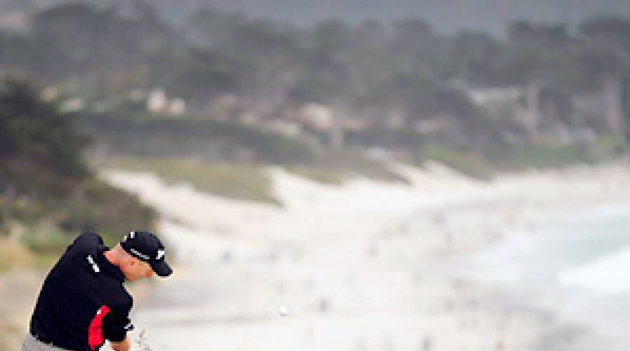 DIRTY DOZEN: Jim Furyk, the '03 Open champ who came in 16th, played the Cliffs in eight over par and was even par for the other 60 holes.