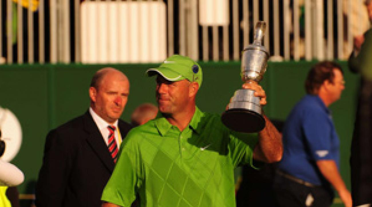 Stewart Cink won his first major championship on Sunday.