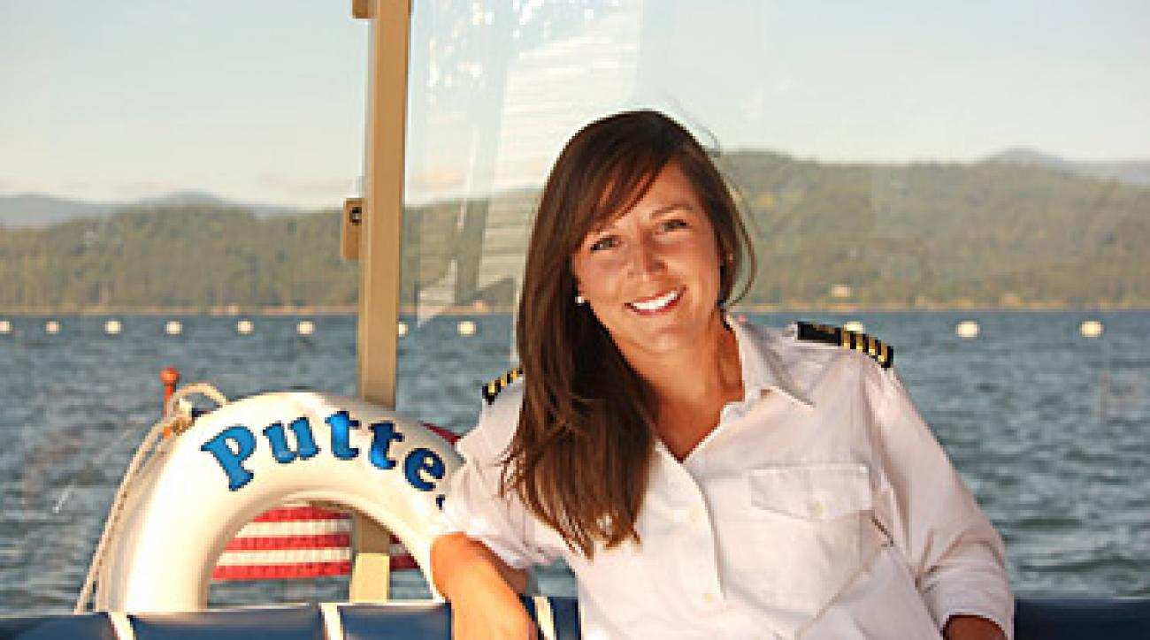 """I'm not sure about career advancement. Maybe I'll be promoted to putter-boat admiral some day."" - Tina Ghirarduzzi"