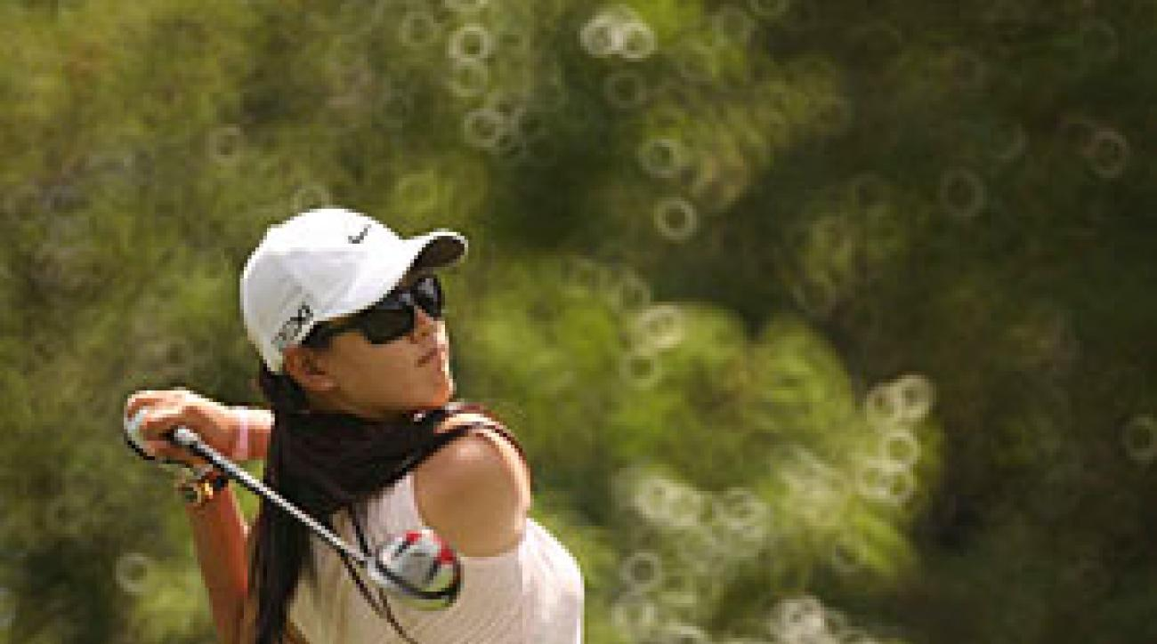 Michelle Wie shot a 71 on Saturday to make the cut.