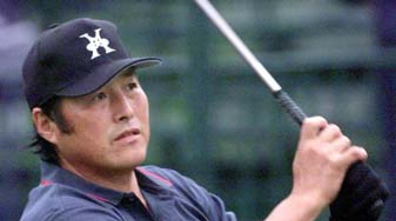 Masashi 'Jumbo' Ozaki at the 1999 U.S. Open in Pinehurst, N.C. Osaki played with Brandel Chamblee for the first two rounds, an experience Chamblee never forgot.