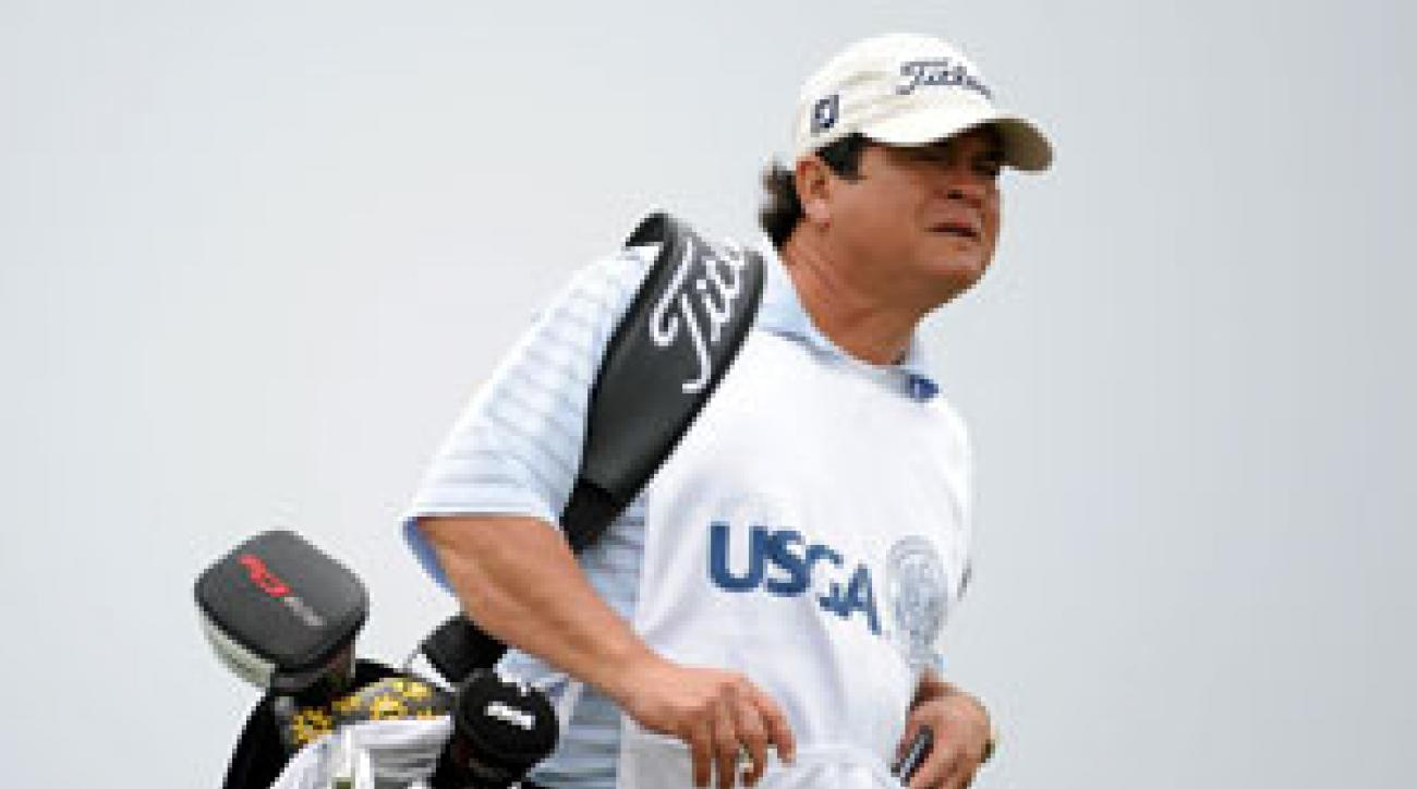 Tony Navarro confronted a heckler Friday at the U.S. Open.