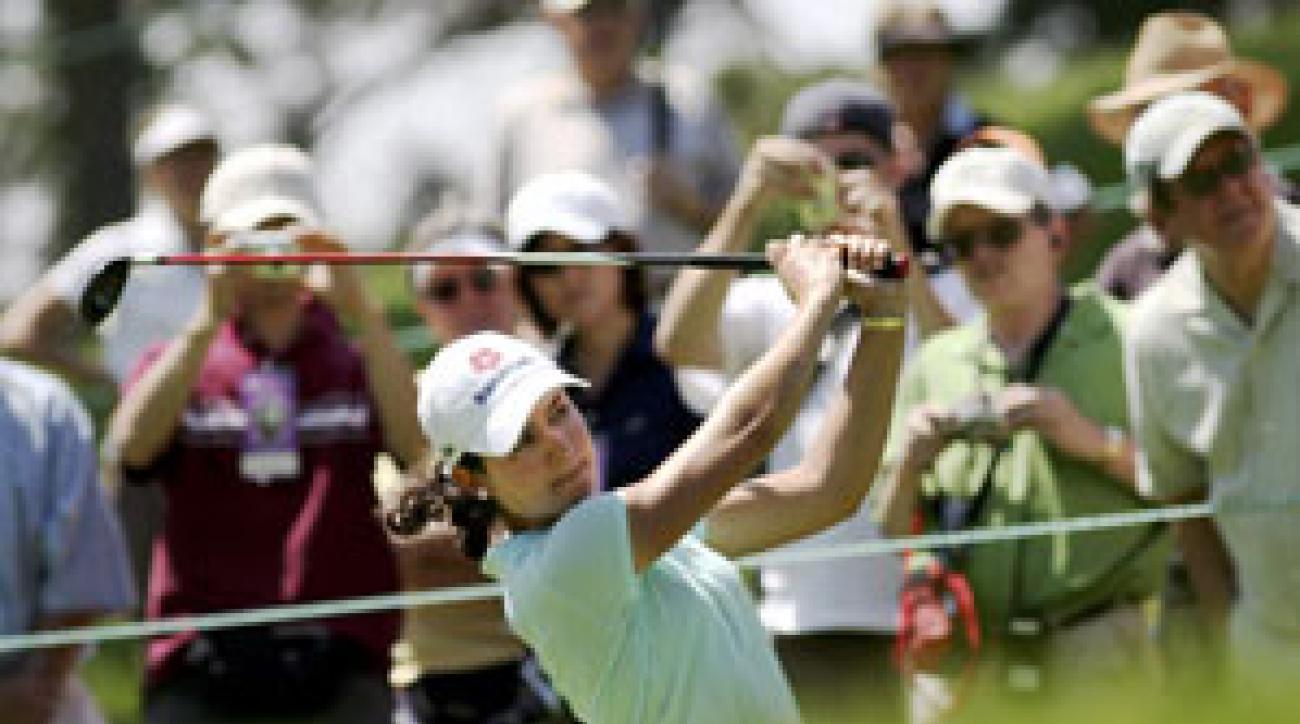 Lorena Ochoa has won six tournaments in 11 starts this season.