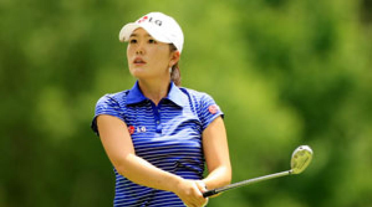 Angela Park tied for second at the 2007 U.S. Open.