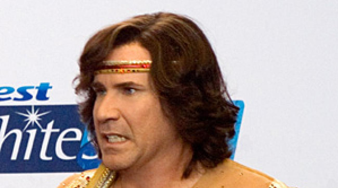 Will Ferrell as Chazz Michael Michaels in Blades of Glory.