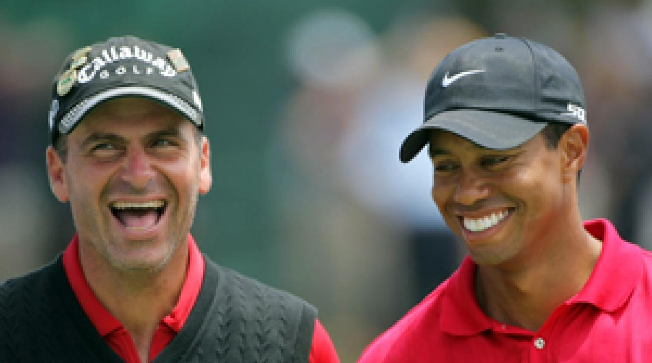 Rocco Mediate lost to Tiger Woods in a playoff at the 2008 U.S. Open.