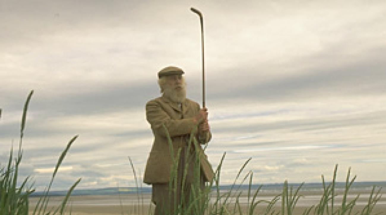 St. Andrews native David Joy as Old Tom Morris.