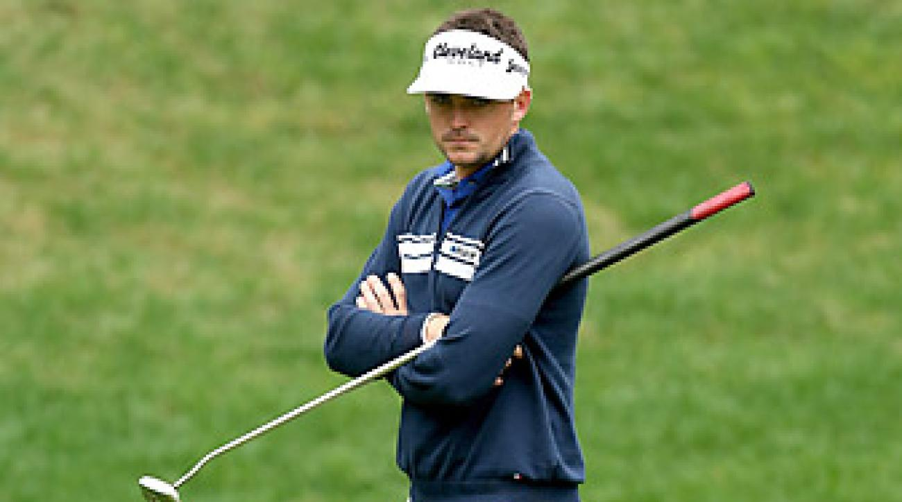Keegan Bradley is one of the players who will be affected by the anchored putting ban.