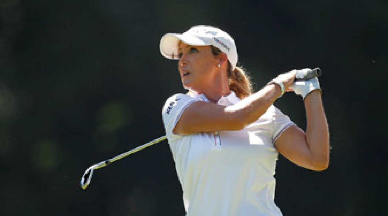 Cristie Kerr made seven birdies and one bogey.