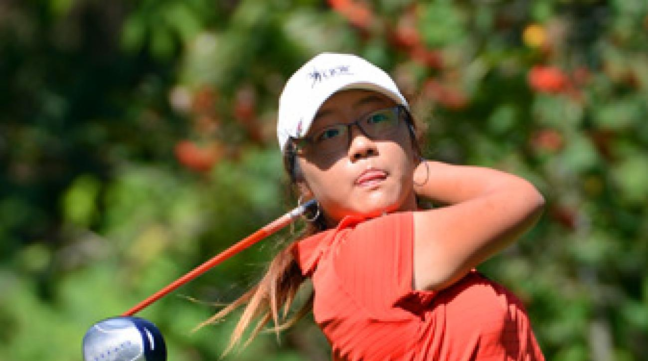 Lydia Ko made seven birdies and two bogeys on Sunday.