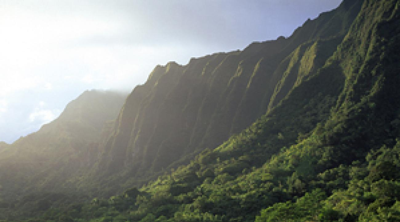 Don't be fooled by Ko'olau's beauty. From the tips, the layout has a beastly slope rating of 152.