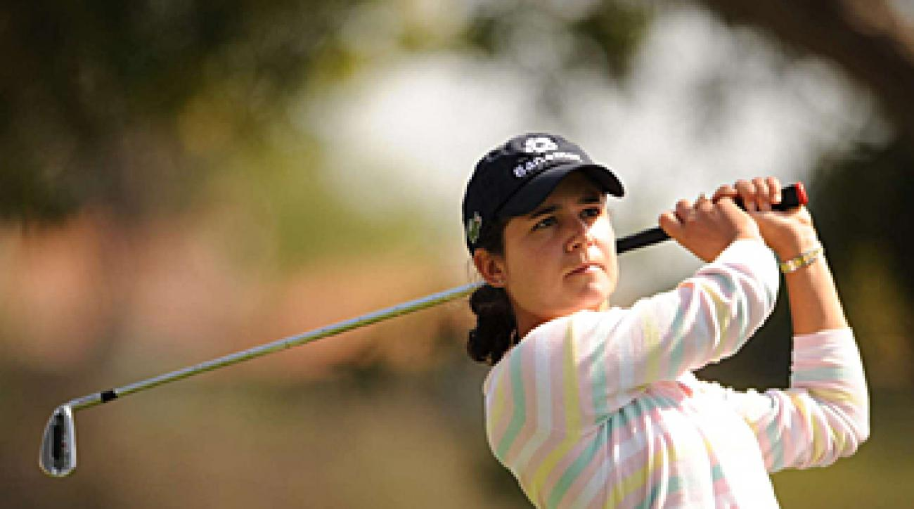 Lorena Ochoa at this year's LPGA Kia Classic in Carlsbad, Calif.