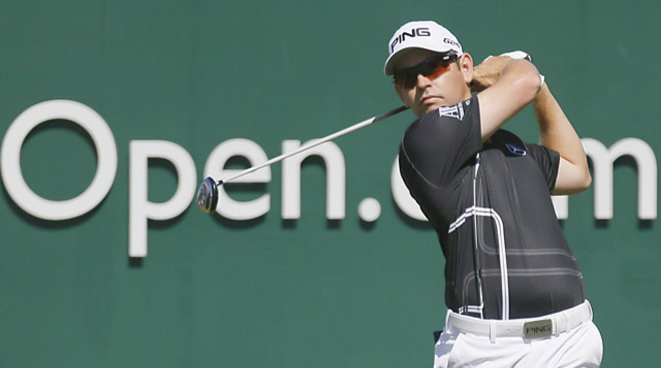 Oosthuizen won the 2010 British Open at St. Andrews.