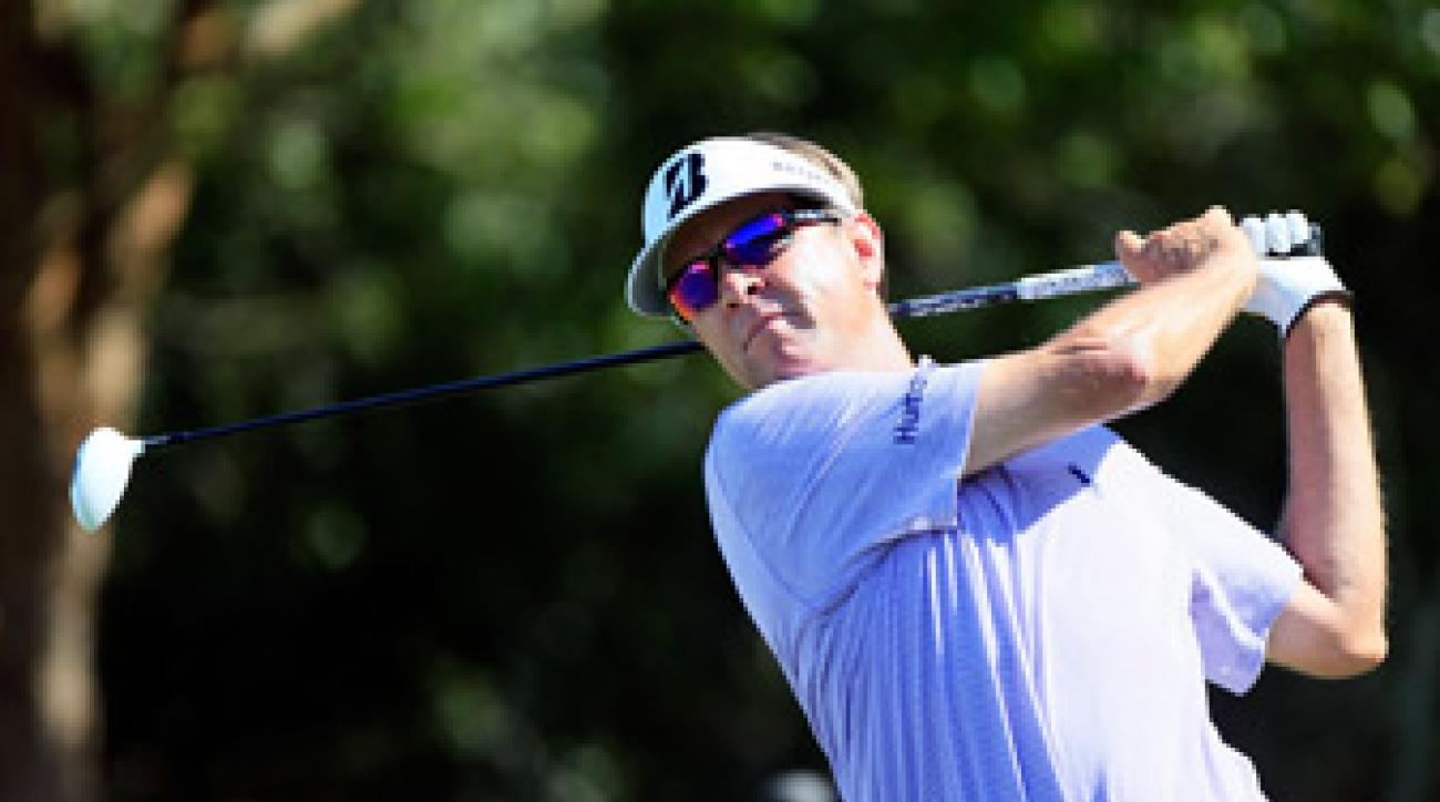 Davis Love III shot a four-under 66 on Friday.