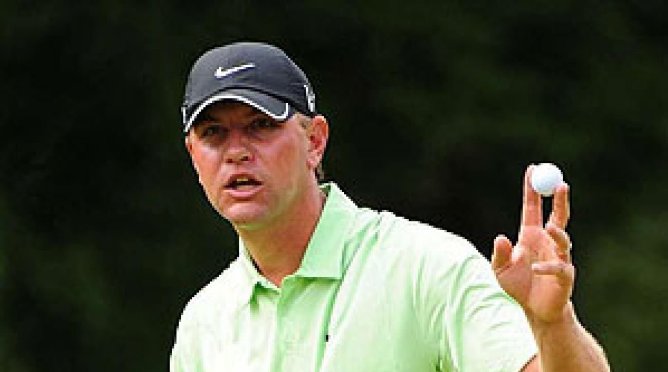 Lucas Glover finished fifth at the PGA Championship.