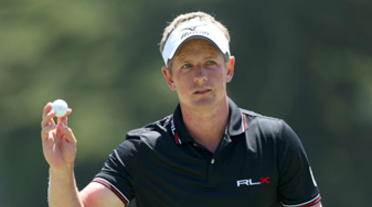 Luke Donald missed the cut at the U.S. Open.