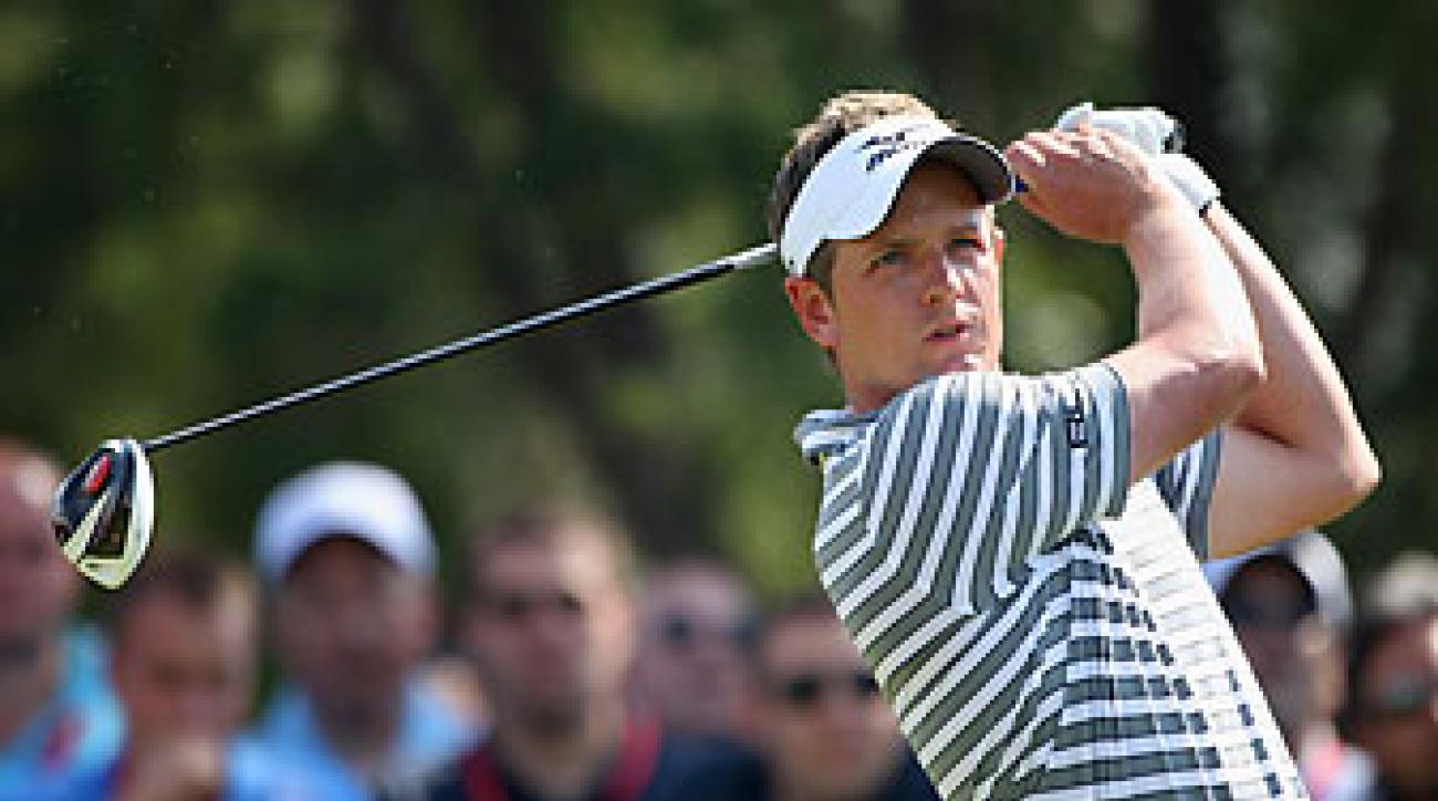 Luke Donald won four times last season.