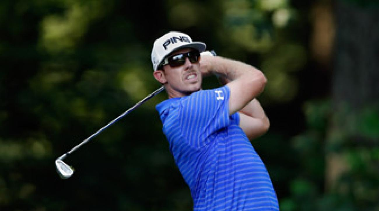 Hunter Mahan made seven birdies and two bogeys.