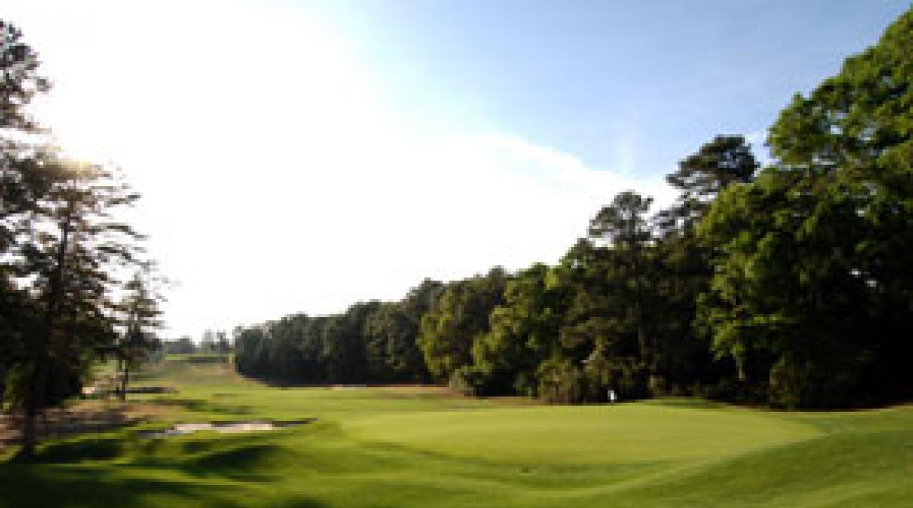 Palmetto Golf Club is a private club, but it is open to the public during Masters week.