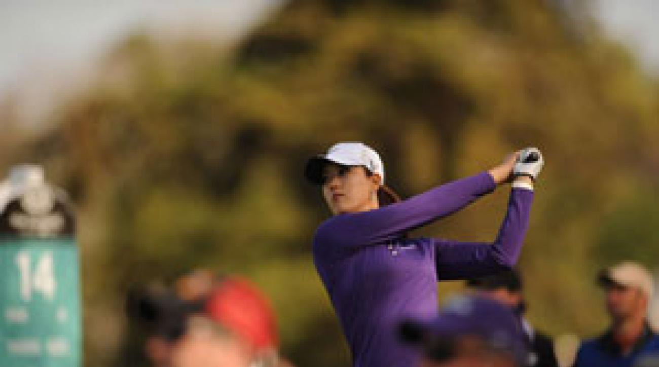 Michelle Wie made six birdies and one bogey on Friday.