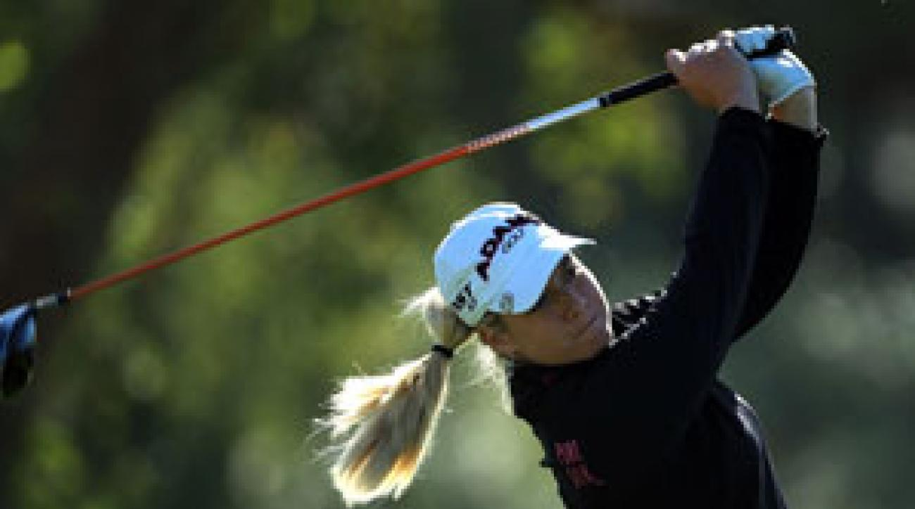 Brittany Lincicome made an eagle on No. 18 to capture the Kraft Nabisco in 2009.