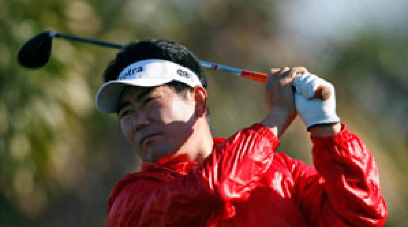 Y.E. Yang finished third last week at the Phoenix Open.
