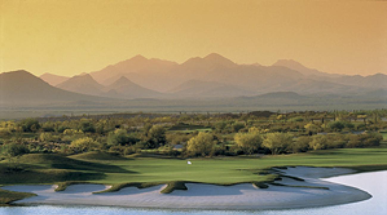 Desert oasis: Longbow Golf Club