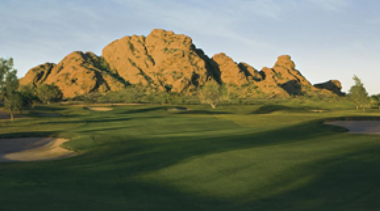 Just another day in paradise: Papago Park isn't exactly your typical muni.