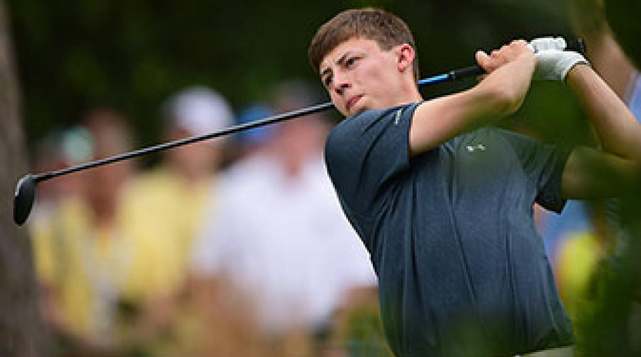 The U.S. Open will be Matthew Fitzpatrick's final event before turning pro.
