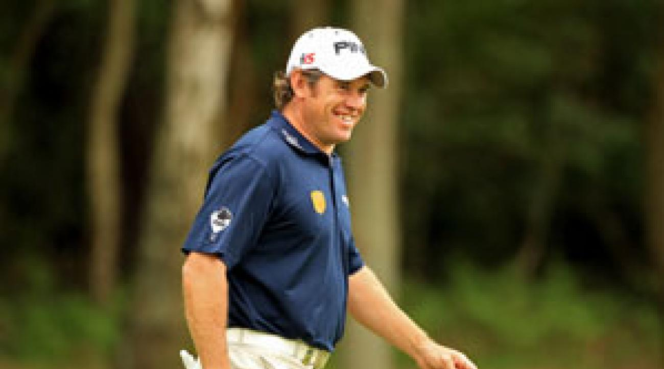 Lee Westwood finished second at the Masters.