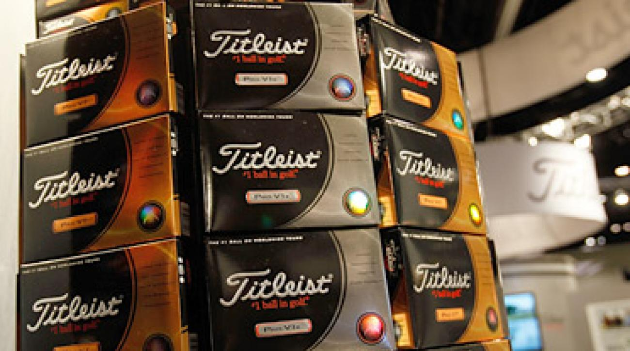 Among other things, Acushnet makes Titleist Pro V1 balls, the most popular ball in golf.