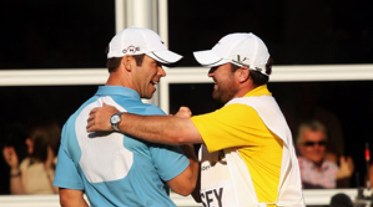Paul Casey started the year ranked No. 41 in the world.