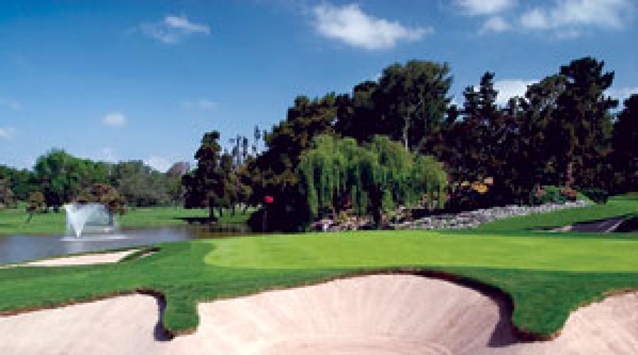 Hazards everywhere: La Costa Resort is the former home of the Accenture World Match Play Championship.