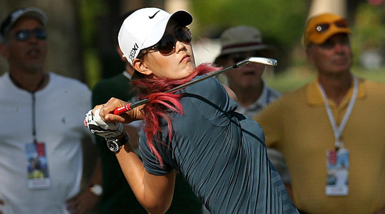Michelle Wie says that Annika Sorenstam called her to apologize for comments she made about Wie in Golf Magazine.