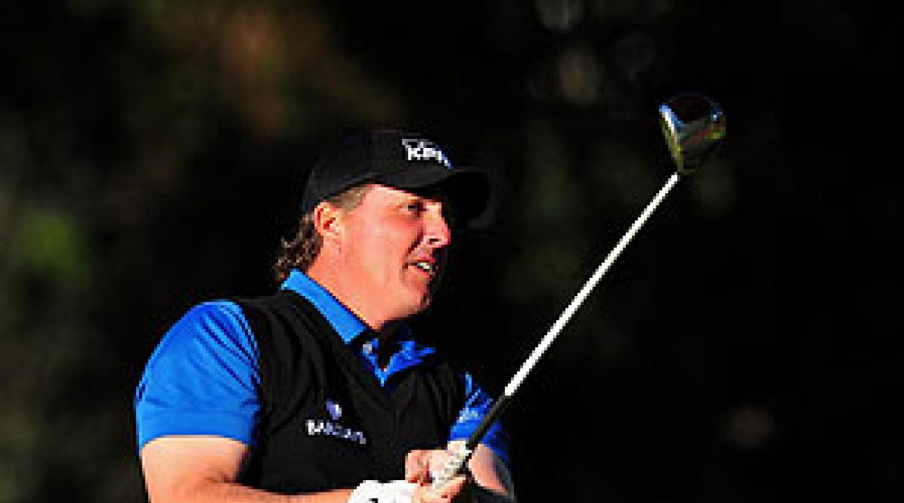 Mickelson shot an 8-under 63 on Thursday.