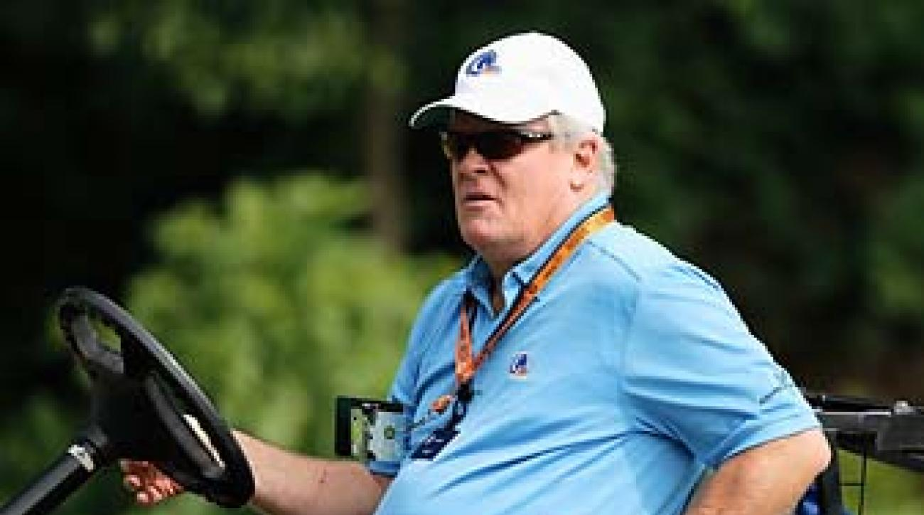 NBC analyst Johnny Miller at the U.S. Senior Open at Omaha Country Club in Nebraska in July. Miller said he does not intend to move to Fox Sports when Fox takes over U.S. Open coverage in 2015.