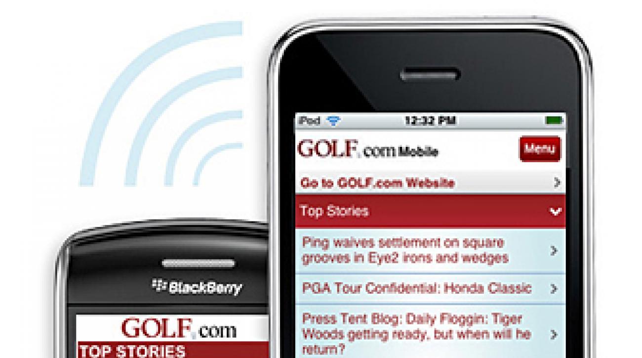 Golf.com mobile