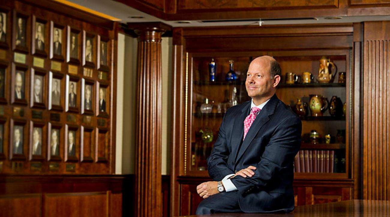 Davis was named USGA executive director in 2011.