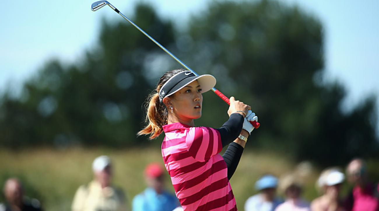 Michelle Wie shot a 78 in the second round to miss the cut.