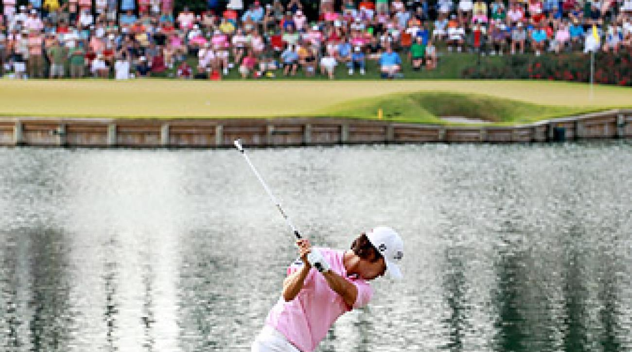 Kevin Na put himself in the forefront of the slow play debate at the Players Championship.
