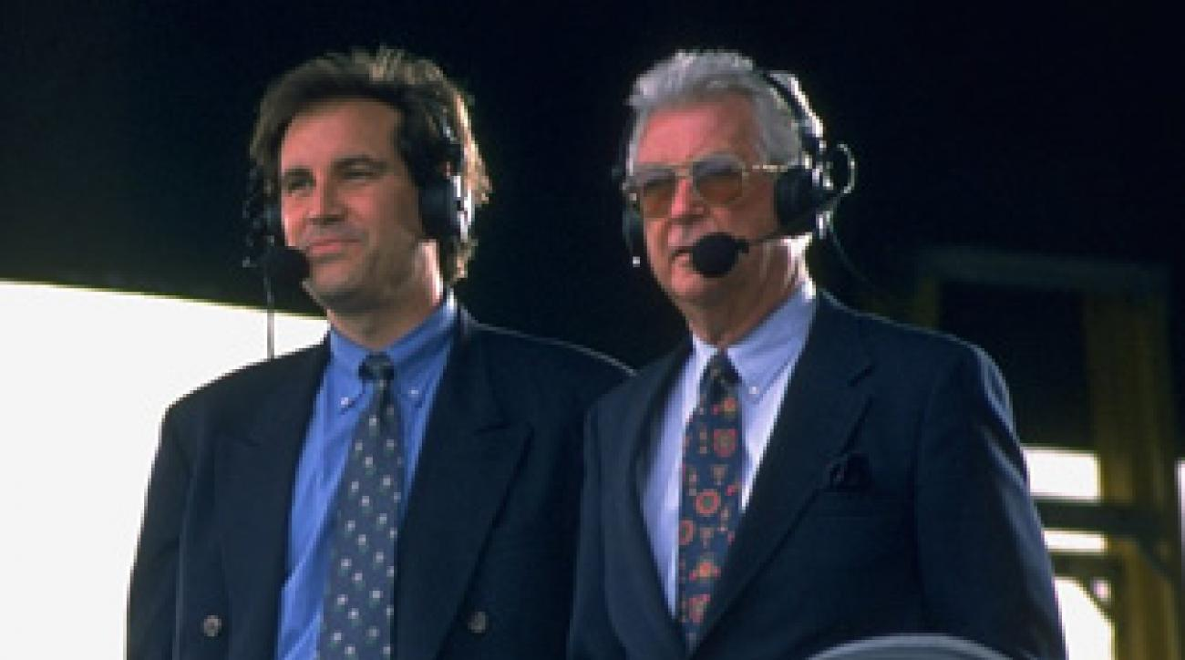 Nantz and Venturi spent 18 years together as the lead announcing pair for CBS golf, and the old pro taught the young gun a thing or two.